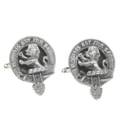 Clan Crest Cufflinks, Stuart of Bute