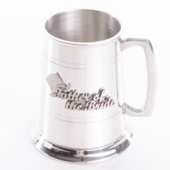Father Of The Bride Pewter Tankard, 1 Pint, Engravable