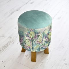 Sea Thistle Monty Foot Stool by Voyage Maison