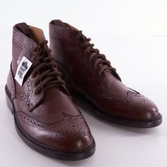 Burgundy Brogue Boots