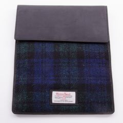 Black Watch Harris Tweed IPad Case