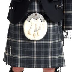 Casual Five Yard Kilt Hebridean Storm, Made in Scotland