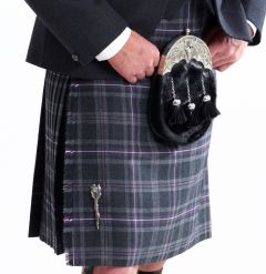 Casual Five Yard Kilt Hebridean Thistle, Made in Scotland