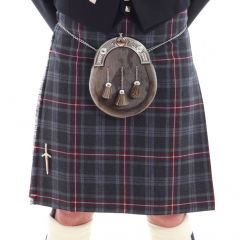 Five yard Casual Kilt Hebridean Heather, made in Scotland