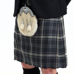 8 yard Ready to Wear Kilt Hebridean Storm tartan, Ready made kilt