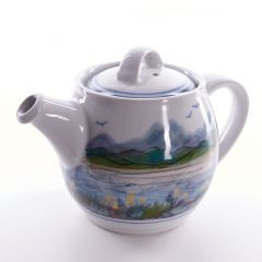 Landscape Teapot by Highland Stoneware