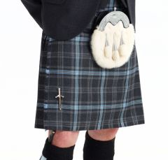 Ready to Wear Kilt Hebridean Ice tartan, ready made kilt