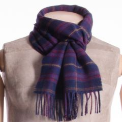 Lambswool District Tartan Scarf Highland Cathedral