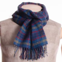 Lambswool District Tartan Scarf Stone of Destiny