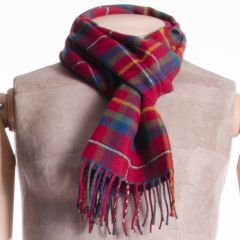 Lambswool Tartan District Scarf East Kilbride