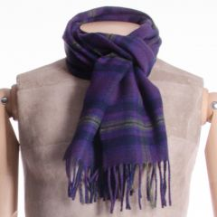 Lambswool District Tartan Scarf Monarch of Glen