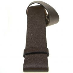 Leather Kilt Belt in Brown