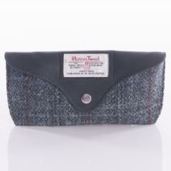 Glasses Case Harris Tweed Grey by The British Bag Company