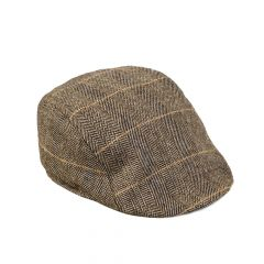 DX7 Tan, Flat Cap by Marc Darcy
