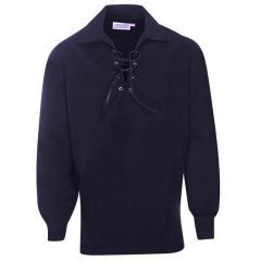 Navy Jacobean Shirt