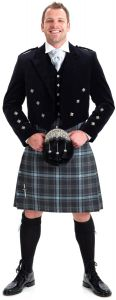 Prince Charlie & 5 Button Waistcoat Hire Outfit