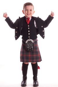 Prince Charlie & 5 Button Waistcoat Children's Hire Outfit