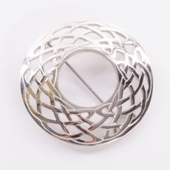 Celtic Design Plaid Brooch