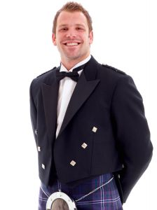 Prince Charlie Jacket and Waistcoat in Heavy Weight Wool