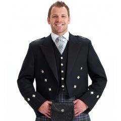 Custom made Regulation Doublet with Vest Kilt Outfit with 8 Yard Kilt