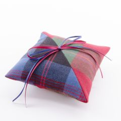 Two Tartans Ring cushion
