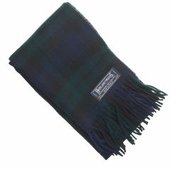 Scarf, Black Watch, Lambswool