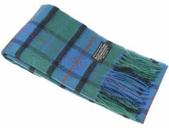 Lambswool Tartan Scarf Flower of Scotland