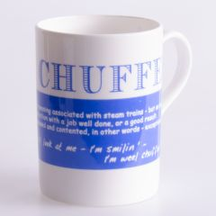 Chuffed Bone China Mug Barbara Davidson Design