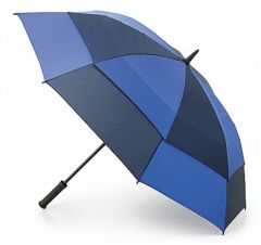 Stormshield Blue and Navy Umbrella by Fulton