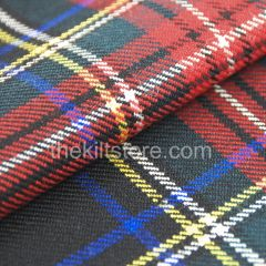 Tartan Black Stewart in our hire range also sold by the yard