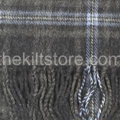 Lambswool scarf Hebridean Ice
