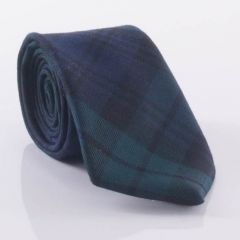 Black Watch Tartan, Luxury Standard Tie, Wool