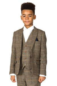Boys 3 Piece Ted Suit by Marc Darcy