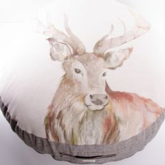 Gregor Stag Large Floor Cushion by Voyage Maison