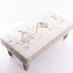 Bowmont Pheasant Foot Stool by Voyage Maison