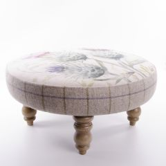 Thistle Glen Foot Stool by Voyage Maison
