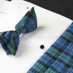 Cummerbund and Bow Tie in Wool - Campbell