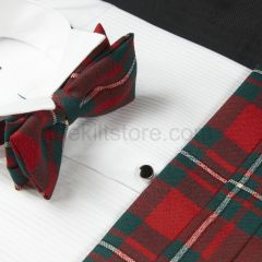 Cummerbund and Bow Tie in Wool - Modern MacGregor