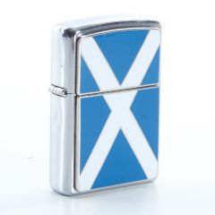 Engravable Zippo Lighter Scotland Flag
